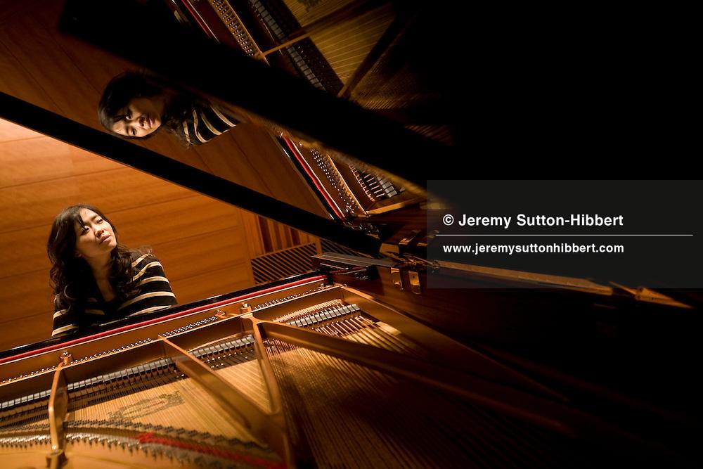 Hiromi Uehara, award winning jazz pianist, Tokyo, Japan, on Saturday, March 8th, 2008. .