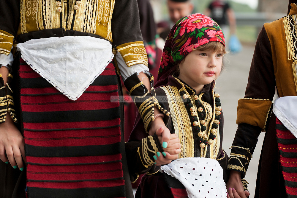 Preparations for the wedding ceremony, Galichnik Wedding Festival, Macedonia