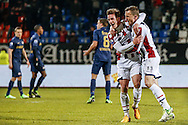 Onderwerp/Subject: Willem II - Eredivisie<br /> Reklame:  <br /> Club/Team/Country: 1<br /> Seizoen/Season: 2012/2013<br /> FOTO/PHOTO: Jordens PETERS (C) of Willem II celebrating his goal ( 1 - 1 ) with Tim CORNELISSE (R) of Willem II. (Photo by PICS UNITED)<br /> <br /> Trefwoorden/Keywords: <br /> #02 $94 &plusmn;1355239962240 &plusmn;1355239962240<br /> Photo- &amp; Copyrights &copy; PICS UNITED <br /> P.O. Box 7164 - 5605 BE  EINDHOVEN (THE NETHERLANDS) <br /> Phone +31 (0)40 296 28 00 <br /> Fax +31 (0) 40 248 47 43 <br /> http://www.pics-united.com <br /> e-mail : sales@pics-united.com (If you would like to raise any issues regarding any aspects of products / service of PICS UNITED) or <br /> e-mail : sales@pics-united.com   <br /> <br /> ATTENTIE: <br /> Publicatie ook bij aanbieding door derden is slechts toegestaan na verkregen toestemming van Pics United. <br /> VOLLEDIGE NAAMSVERMELDING IS VERPLICHT! (&copy; PICS UNITED/Naam Fotograaf, zie veld 4 van de bestandsinfo 'credits') <br /> ATTENTION:  <br /> &copy; Pics United. Reproduction/publication of this photo by any parties is only permitted after authorisation is sought and obtained from  PICS UNITED- THE NETHERLANDS