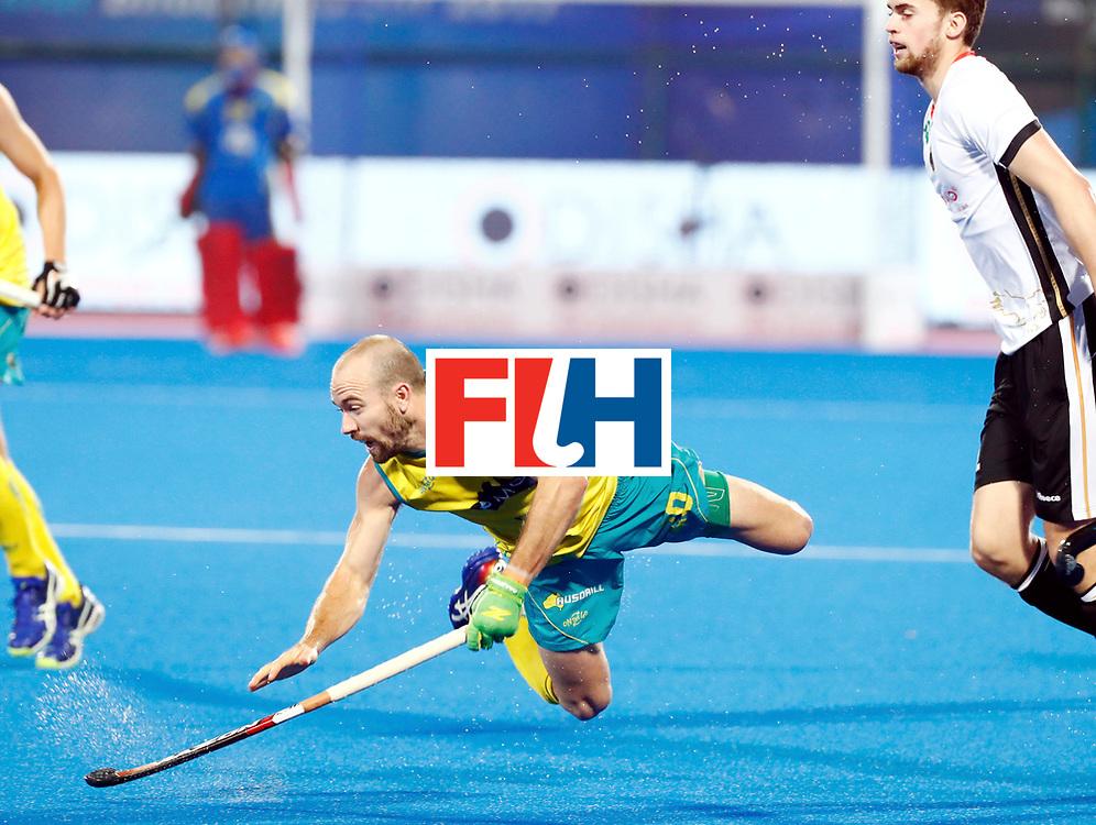 Odisha Men's Hockey World League Final Bhubaneswar 2017<br /> Match id: 20<br /> Australia v Germany<br /> Foto: Matthew Swann (Aus) <br /> COPYRIGHT WORLDSPORTPICS KOEN SUYK