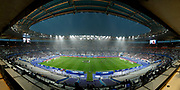 Wild view of the stadieum under rain at warm up during the FIFA Friendly Game football match between France and Republic of Ireland on May 28, 2018 at Stade de France in Saint-Denis near Paris, France - Photo Stephane Allaman / ProSportsImages / DPPI