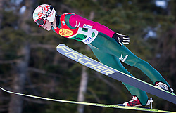 14.12.2013, Nordische Arena, Ramsau, AUT, FIS Nordische Kombination Weltcup, Skisprung, Wettkampfdurchgang, im Bild Taihei Kato (JPN) // Taihei Kato (JPN) during Ski Jumping of FIS Nordic Combined World Cup, at the Nordic Arena in Ramsau, Austria on 2013/12/14. EXPA Pictures © 2013, EXPA/ JFK