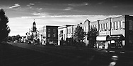 Dawn greets businesses on State Street in Geneva, Illinois.  This is the only limited edition (50 prints) image by Brian DeWolf. A portion of each sale is donated to the Geneva History Center. 7x14 is $250 and 12x24 is $450.