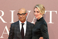 Stanley Tucci, Felicity Blunt, A Private War - European Premiere, BFI London Film Festival, Leicester Square, London, UK, 20 October 2018, Photo by Richard Goldschmidt