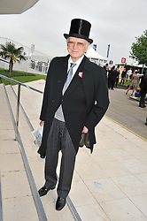 SIR PETER O'SULLEVAN at the 2012 Investec sponsored Derby at Epsom Racecourse, Epsom, Surrey on 2nd June 2012.