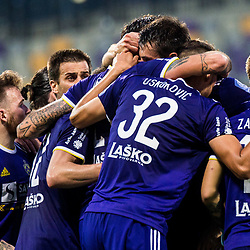 20181006: SLO, Football - Prva liga Telekom Slovenije 2018/19, NK Maribor vs NK Aluminij