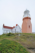 Long Point Lighthouse at Crow Head. <br /> Twillingate<br /> Newfoundland & Labrador<br /> Canada