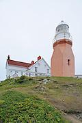 Long Point Lighthouse at Crow Head. <br /> Twillingate<br /> Newfoundland & Labrador<br /> Canada