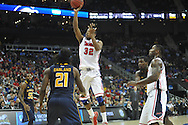 Ole Miss' Jarvis Summers (32) vs. La Salle in the Round of 32 of the NCAA Tournament at the Sprint Center in Kansas City, Mo. on Sunday, March 24, 2013.