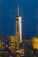 One World Trade Center (tallest skyscraper in the Western Hemisphere and fourth tallest in the world), New York, New York USA.