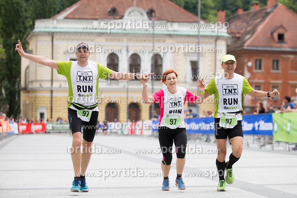 Tek trojk at event Pot ob zici 2018, on May 5, 2018 in Ljubljana, Slovenia. Photo by Urban Urbanc / Sportida