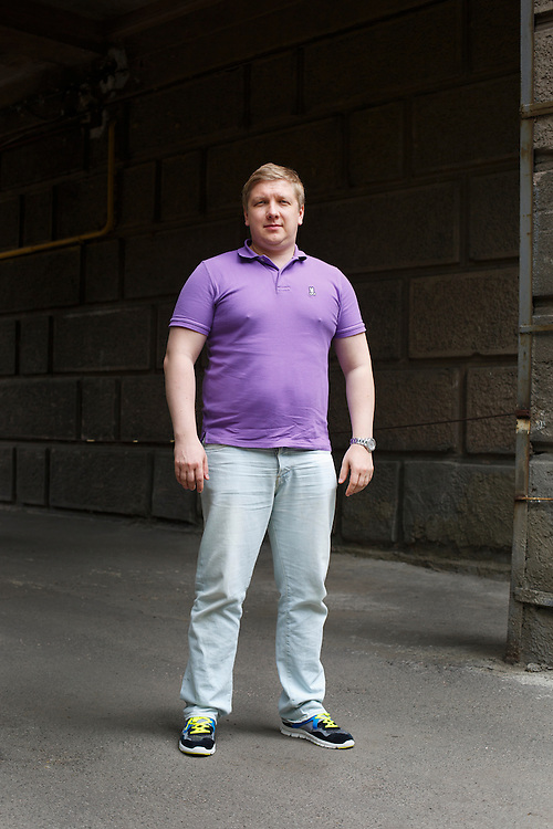 Andriy Kobolev, CEO and Chairman of Naftogaz, poses for a portrait on May 30, 2015 in Kyiv, Ukraine.