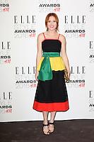 Angela Scanlon, ELLE Style Awards 2016, Millbank London UK, 23 February 2016, Photo by Richard Goldschmidt