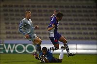 Fotball<br /> Belgia<br /> 21.11.2003<br /> Beerschot v Brugge<br /> Foto: Digitalsport<br /> Norway Only<br /> <br /> CARL HOEFKENS / LUCIANO DA SILVA / RUNE LANGE