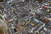 Nederland, Limburg, Maastricht, 15-11-2010;.Onze Lieve Vrouwebasiliek in Maastricht. Basilica of Our Lady in Maastricht. .luchtfoto (toeslag), aerial photo (additional fee required).foto/photo Siebe Swart