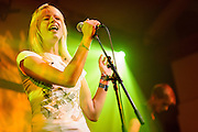 Joelle Gelhausen/Angel At My Table performing live at the Proud Camden concert venue in London, UK on September 7, 2012