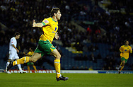 Leeds - Monday October 19th, 2009: Grant Holt of Norwich City celebrates their first goal during the Coca Cola League One match at Elland Road, Leeds. (Pic by Paul Thomas/Focus Images)..