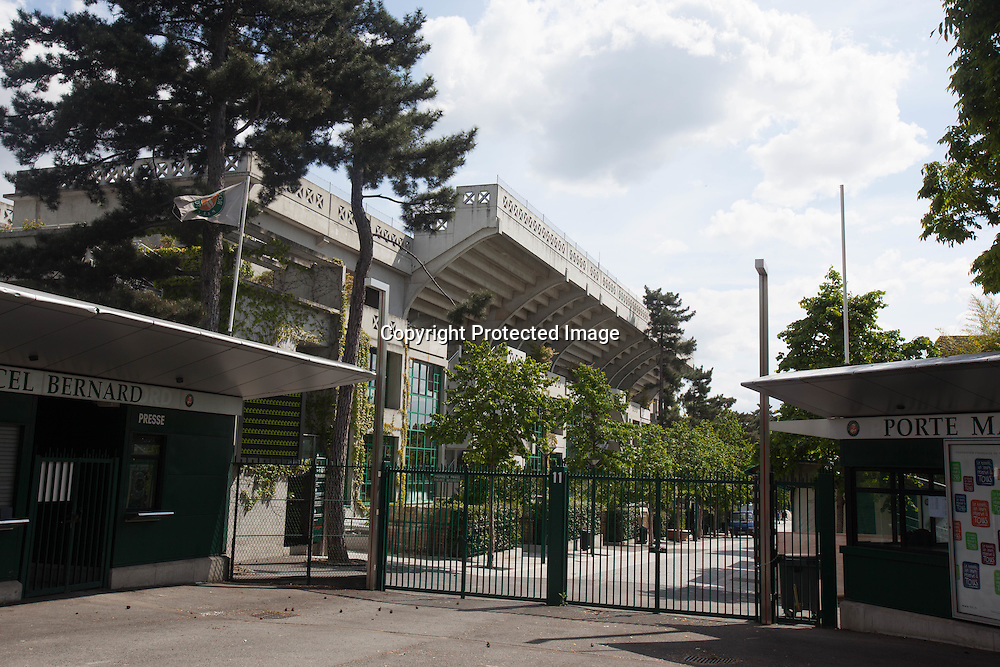 France. Paris. 16th district. Roland Garros stadium , Paris, France / Stade Roland Garros