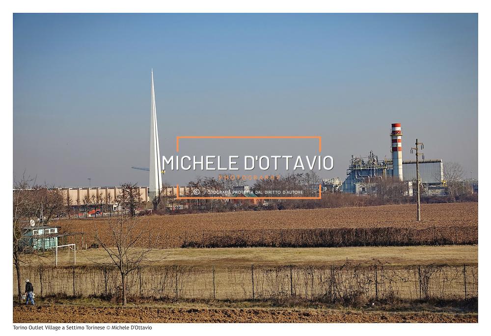 8 Gennaio 2017 : Il cantiere del nuovo centro commerciale Torino Outlet Village, specializzato nel lusso, aprirà i battenti nella zona periferica di Settimo Torinese.