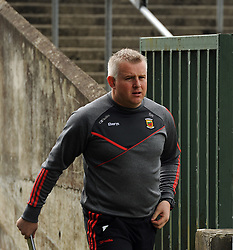 Mayo manager Stephen Rochford at the gaelic Grounds Limerick for  the qualifer clash against Cork.<br /> Pic Conor McKeown