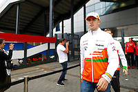 MOTORSPORT - F1 2013 - BRITISH GRAND PRIX - GRAND PRIX D'ANGLETERRE - SILVERSTONE (GBR) - 28 TO 30/06/2013 - PHOTO : FREDERIC LE FLOC'H / DPPI - DI RESTA PAUL (GBR) - FORCE INDIA VJM06 - AMBIANCE PORTRAIT