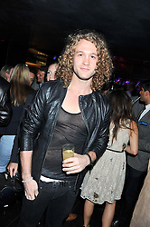 Model Jonny Laidler at the Johnnie Walker Gold Label Reserve Launch Party at Whisky Mist, 35 Hertford Street, London on 18th July 2012.