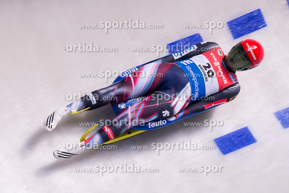 26.11.2016, Winterberg, GER, Viessmann Rennrodel Weltcup, Winterberg, Damen, Einsitzer, im Bild Tatjana Huefner GER // during women's single seater of Viessmann Luge World Cup. Winterberg, Germany on 2016/11/26. EXPA Pictures &copy; 2016, PhotoCredit: EXPA/ Rolf Kosecki<br /> <br /> *****ATTENTION - OUT of GER*****
