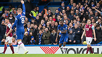 Football - 2019 / 2020 Premier League - Chelsea vs. Burnley<br /> <br /> Antonio Rudiger (Chelsea FC) appeals for handball at Stamford Bridge <br /> <br /> COLORSPORT/DANIEL BEARHAM