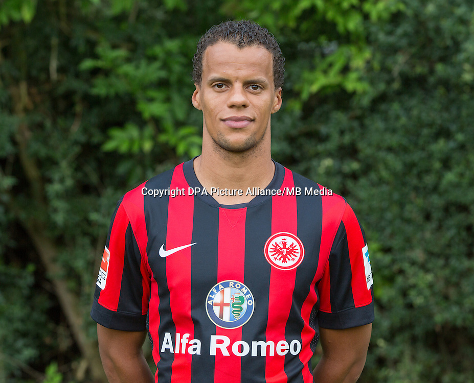 German Soccer Bundesliga - Photocall Eintracht Frankfurt on 29 July 2014 in Frankfurt, Germany: Timothy Chandler.