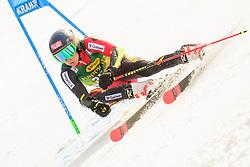 March 9, 2019 - Kranjska Gora, Kranjska Gora, Slovenia - Sam Maes of Belgium in action during Audi FIS Ski World Cup Vitranc on March 8, 2019 in Kranjska Gora, Slovenia. (Credit Image: © Rok Rakun/Pacific Press via ZUMA Wire)