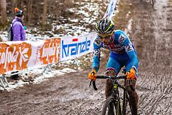 Michael Boros (CZE), Men Elite, Cyclo-cross World Championship Tabor, Czech Republic, 1 February 2015, Photo by Pim Nijland / PelotonPhotos.com