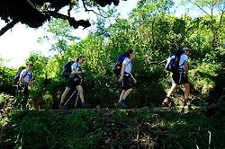 13-10-2008 REPORTAGE: KILIMANJARO CHALLENGE 2008: TANZANIA <br /> Van Mariakamba Huts (2514m) naar Saddle Huts (3570m). De Kilimanjaro Challenge van de BvdGf.<br /> ©2008-FotoHoogendoorn.nl