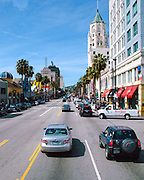 Hollywood Boulevard in Los Angeles