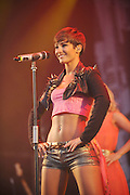 23.JULY.2011. ESSEX<br /> <br /> FRANKIE SANDFORD FROM GIRL BAND THE SATURDAYS PERFORMING AT THE ENGLISH HERITAGE PICNIC CONCERT AT AUDLEY END HOUSE IN SAFFRON WALDAN, ESSEX.<br /> <br /> BYLINE: EDBIMAGEARCHIVE.COM<br /> <br /> *THIS IMAGE IS STRICTLY FOR UK NEWSPAPERS AND MAGAZINES ONLY*<br /> *FOR WORLD WIDE SALES AND WEB USE PLEASE CONTACT EDBIMAGEARCHIVE - 0208 954 5968*