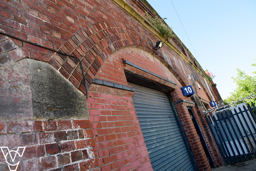 INSIGHT MAGAZINE: Bridlington Model Railway Society are based in Station Road, Bridlington, in a railway arch unit owned by Network Rail.  Pictured is the outside of the railway arch rented by Bridlington Model Railway Society.<br /> <br /> Picture: Chris Vaughan Photography<br /> Date: May 31, 2017