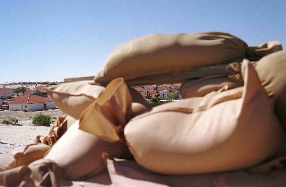 guarding position in Newe Deqalim settelm