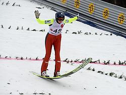 02.02.2014, Energie AG Skisprung Arena, Hinzenbach, AUT, FIS Ski Sprung, FIS Ski Jumping World Cup Ladies, Hinzenbach, Wettkampf im Bild #45 Daniela Iraschko-Stolz (AUT) // during FIS Ski Jumping World Cup Ladies at the Energie AG Skisprung Arena, Hinzenbach, Austria on 2014/02/02. EXPA Pictures © 2014, PhotoCredit: EXPA/ Reinhard Eisenbauer