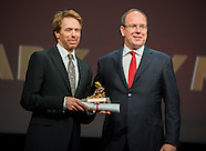 Jerry Bruckheimer receives the Nymph of Honor at the Monte Carlo Festival