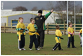 Northampton Saints Premier Rugby Camp at Franklins Garden.13-02-2006.
