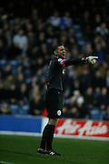 Queens Park Rangers goalkeeper (Robert Green) Rob Green (1) during the Sky Bet Championship match between Queens Park Rangers and Brighton and Hove Albion at the Loftus Road Stadium, London, England on 15 December 2015.