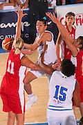 Bormio 26 luglio 2008 <br /> Basket Torneo Internazionale Femminile <br /> Italia &ndash; Belgio <br /> Nella foto: Bonafede <br /> Foto Ciamillo-Castoria