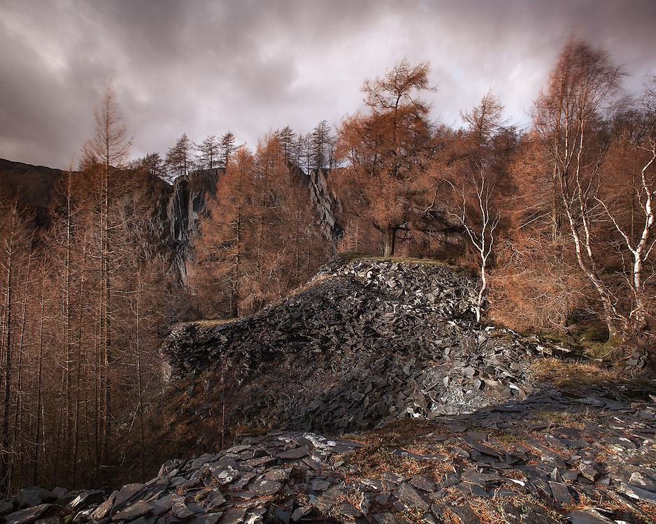 This disused slate quarry was amazing I could have spent weeks just wandering around here. Would have to take care not to wander too close to the edges though!