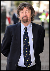 Sir Trevor Nunn arrives at Westminster Abbey for the service to celebrate the life and work of Sir David Frost, Westminster Abbey, London, United Kingdom. Thursday, 13th March 2014. Picture by Andrew Parsons / i-Images
