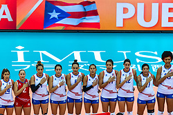 07-10-2018 JPN: World Championship Volleyball Women day 8, Nagoya<br /> Netherlands - Puerto Rico 3-0 / Team Puerto Rico