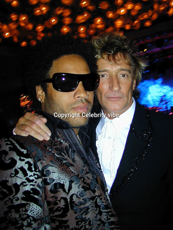 Lenny Kravitz &amp; Rod steward<br />