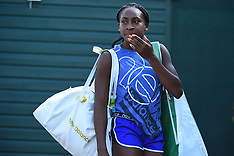 Cori Gauff Practice session - 7 July 2019