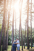 Amy & Dave's Beautiful Woodsy Engagement