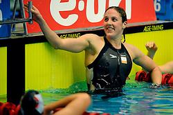 21-12-2008 ZWEMMEN: NK KORTE BAAN: AMSTERDAM<br /> Marleen Veldhuis zwom bijna een wereldrecord op de 100 meter<br /> ©2008-WWW.FOTOHOOGENDOORN.NL