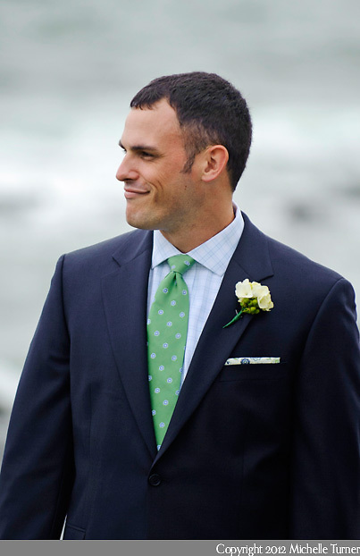 Maine Lighthouse Wedding and Inn at Ocean's Edge Wedding.  Images by Maine Wedding Photographer Michelle Turner.