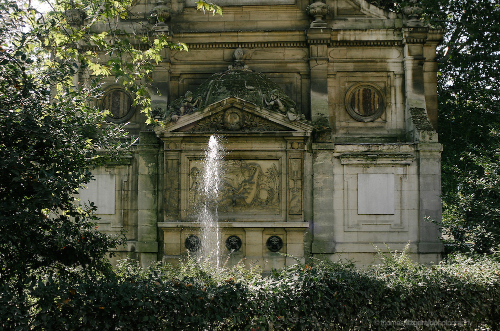 Fountain at the Louxembourg Gardens, Paris , France